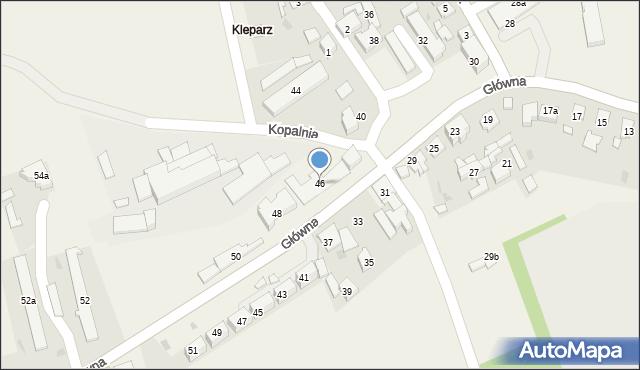 Bolesław, Główna, 46, mapa Bolesław