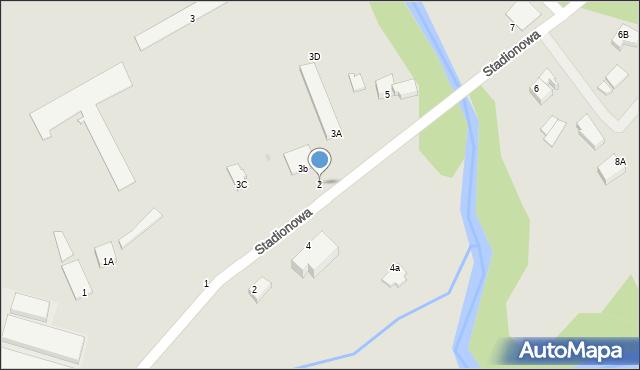 Gołdap, Promenada Zdrojowa, 2, mapa Gołdap