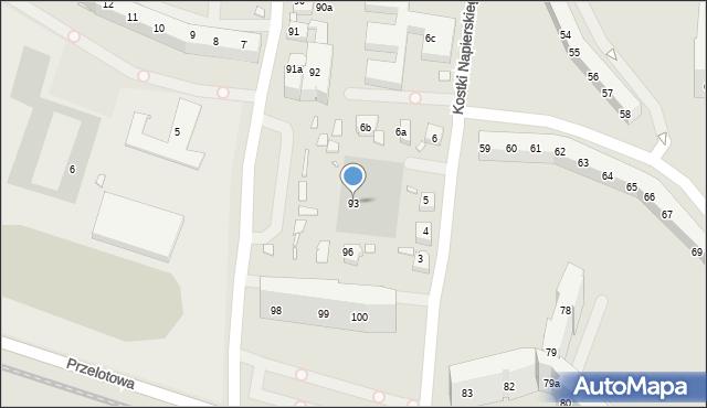 Szczecin, Rydla Lucjana, 93, mapa Szczecina