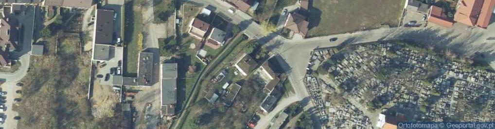 Zdjęcie satelitarne 18 Stycznia ul.