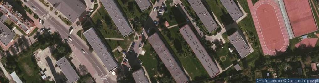 Zdjęcie satelitarne 25-lecia PRL ul.