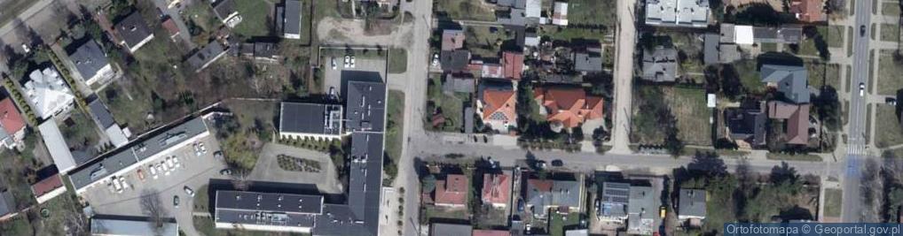 Zdjęcie satelitarne Admiralska ul.