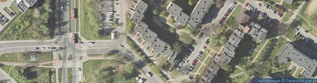 Zdjęcie satelitarne Agatowa 16