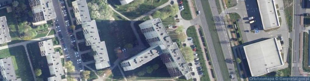 Zdjęcie satelitarne Aleja Niepodległości al.
