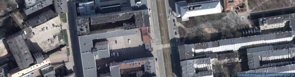 Zdjęcie satelitarne Aleja Kościuszki Tadeusza, gen. 23/25