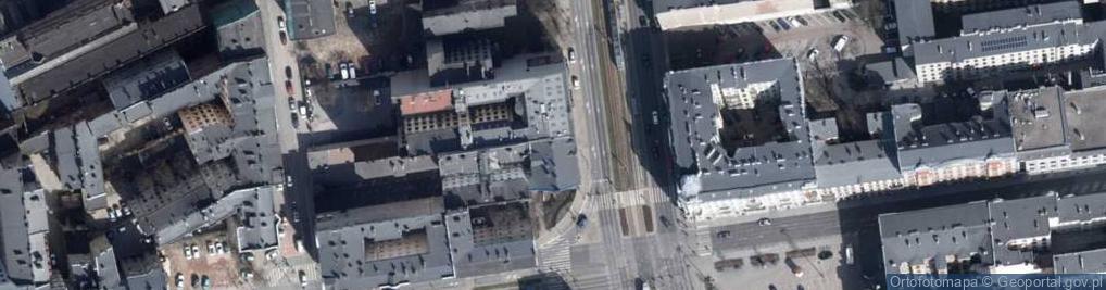 Zdjęcie satelitarne Aleja Kościuszki Tadeusza, gen. 41
