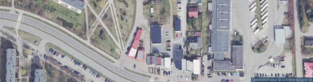 Zdjęcie satelitarne Aleja Jana Pawła II 11