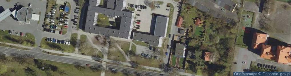Zdjęcie satelitarne Aleja Wojska Polskiego 49B