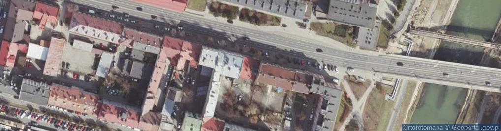 Zdjęcie satelitarne Aleja Piłsudskiego Józefa, marsz. 7