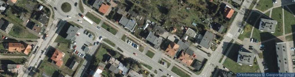 Zdjęcie satelitarne Aleja Armii Krajowej 9