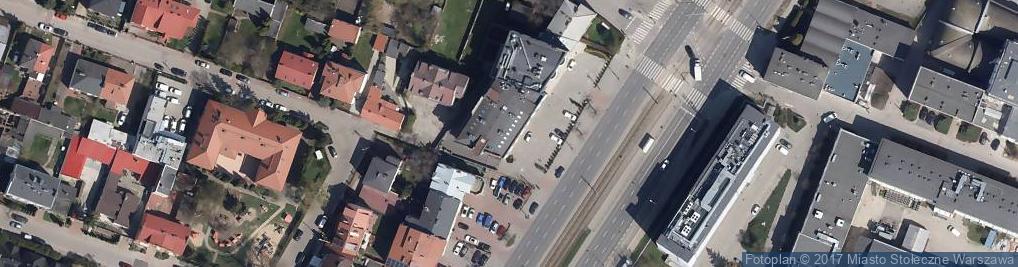 Zdjęcie satelitarne Aleja Krakowska 131