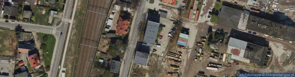 Zdjęcie satelitarne Armii Poznań ul.