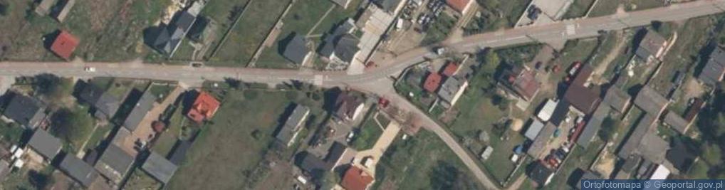 Zdjęcie satelitarne Babichy 8
