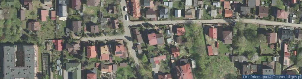 Zdjęcie satelitarne Bagnowska ul.
