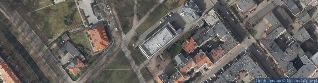 Zdjęcie satelitarne Berbeckiego Leona, gen. ul.