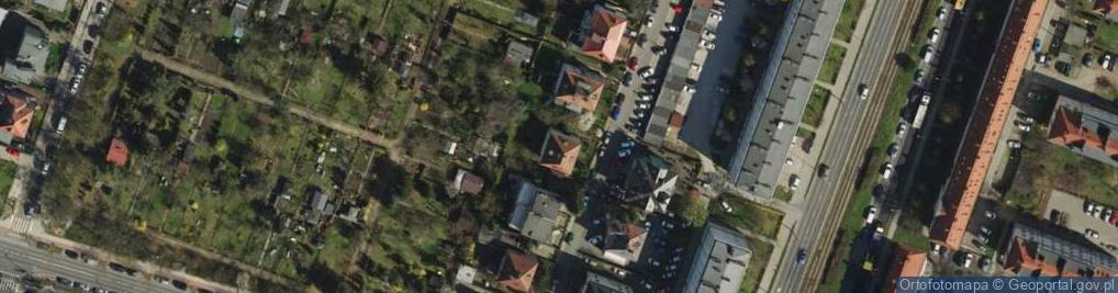 Zdjęcie satelitarne Bednarska 7