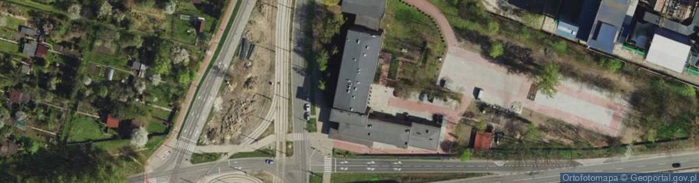 Zdjęcie satelitarne Będzińska 65