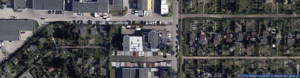 Zdjęcie satelitarne Bielicka ul.