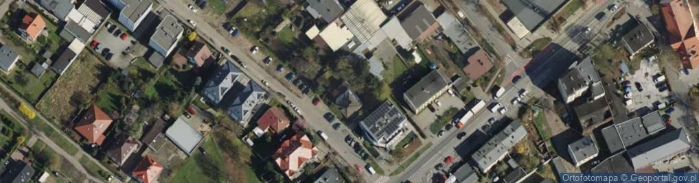 Zdjęcie satelitarne Blacharska 4