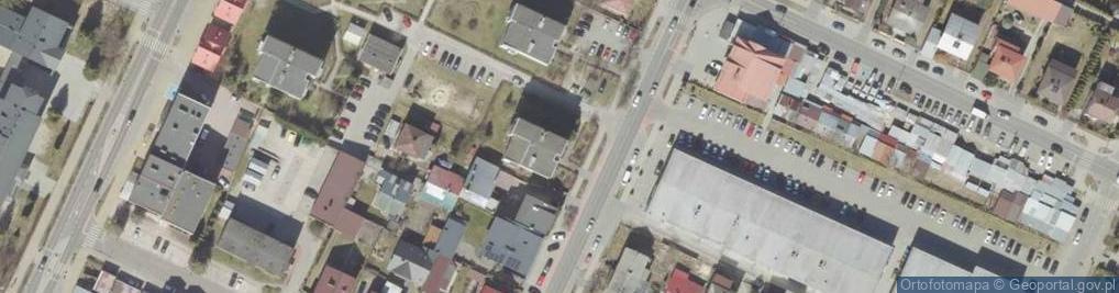 Zdjęcie satelitarne Bohaterów Monte Cassino 20