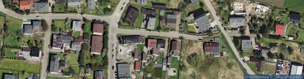 Zdjęcie satelitarne Boczna 2