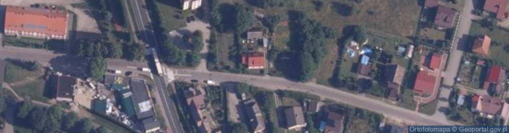 Zdjęcie satelitarne Brzeźnicka 12