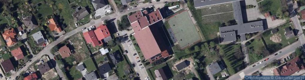 Zdjęcie satelitarne Bratków ul.