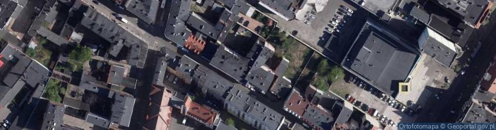 Zdjęcie satelitarne Braci Śniadeckich Jana i Jędrzeja 12