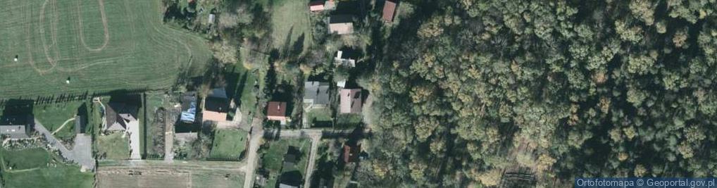 Zdjęcie satelitarne Brzoskwiniowa ul.