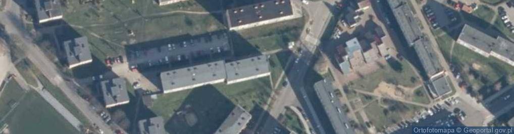 Zdjęcie satelitarne Brzozowa 8c