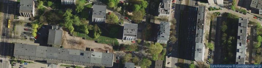 Zdjęcie satelitarne Broniewskiego Władysława 1B