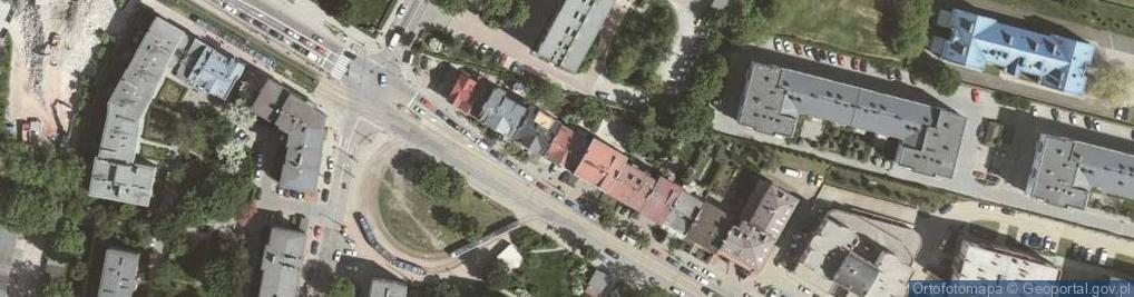 Zdjęcie satelitarne Bronowicka ul.