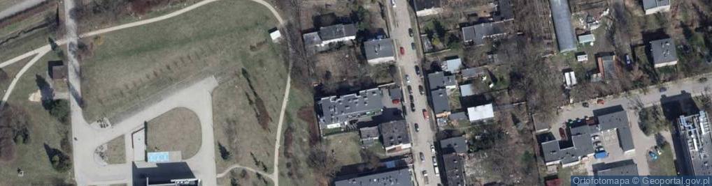 Zdjęcie satelitarne Brzeska ul.