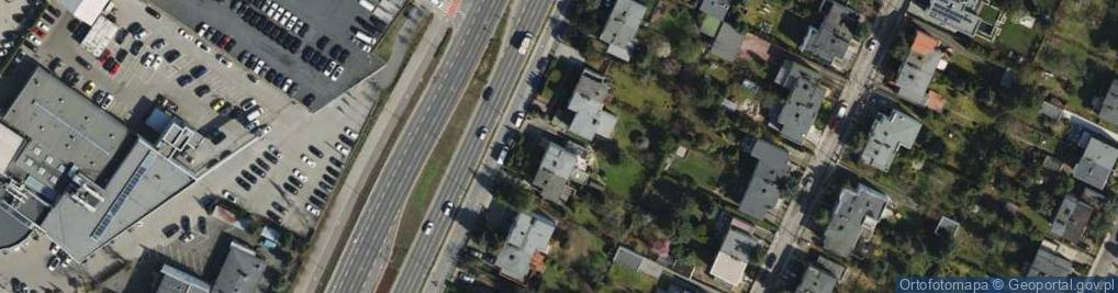 Zdjęcie satelitarne Bułgarska ul.