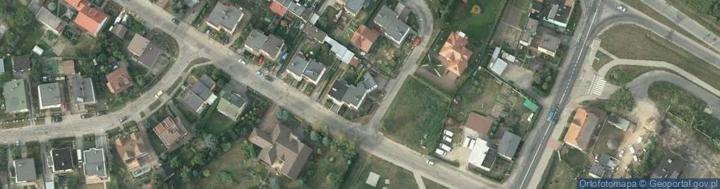 Zdjęcie satelitarne Bukowa ul.