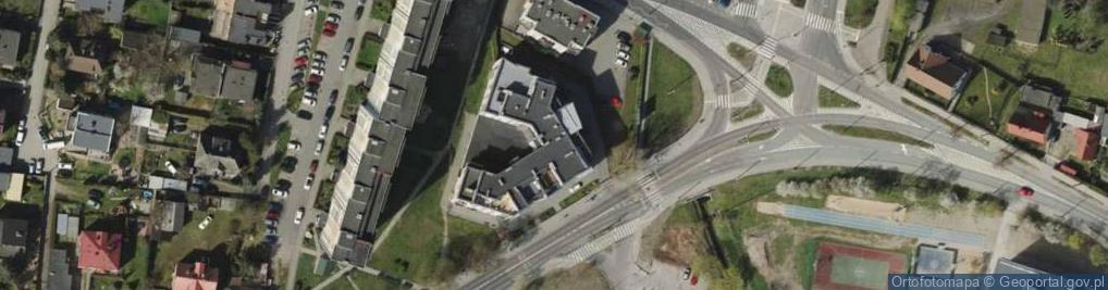 Zdjęcie satelitarne Chylońska ul.