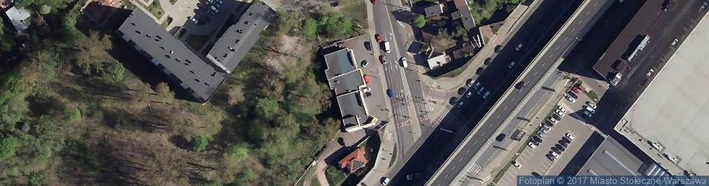 Zdjęcie satelitarne Chełmżyńska ul.