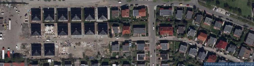 Zdjęcie satelitarne Ciepła 9