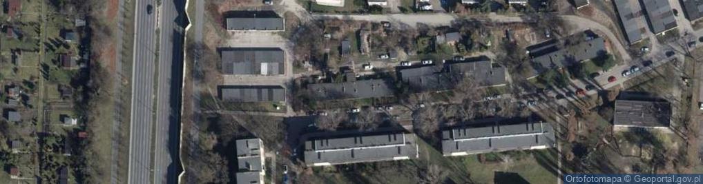 Zdjęcie satelitarne Cieszyńska 47b