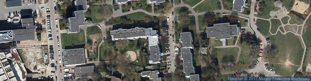 Zdjęcie satelitarne Cybisa Jana ul.