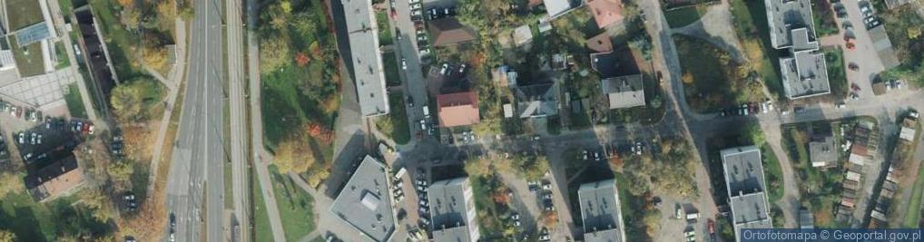 Zdjęcie satelitarne Czartoryskiego ul.