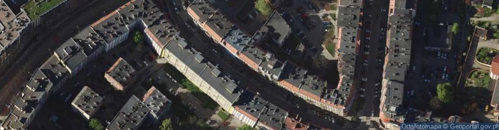 Zdjęcie satelitarne Daszyńskiego Ignacego 10A