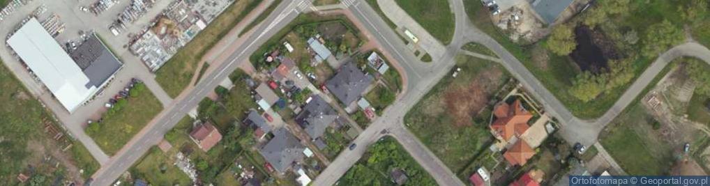 Zdjęcie satelitarne Dębowa 3