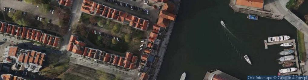 Zdjęcie satelitarne Długie Pobrzeże 28