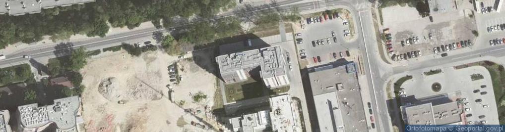 Zdjęcie satelitarne Dobrego Pasterza ul.