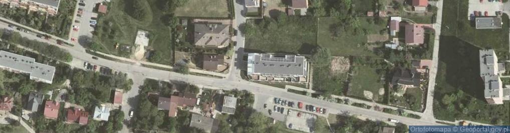 Zdjęcie satelitarne Dobczycka 25