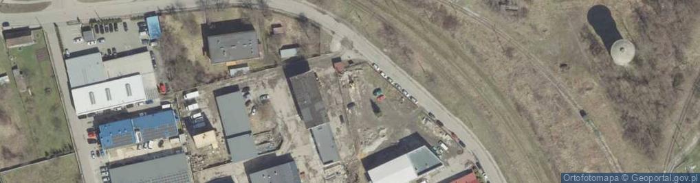 Zdjęcie satelitarne Do Huty 33