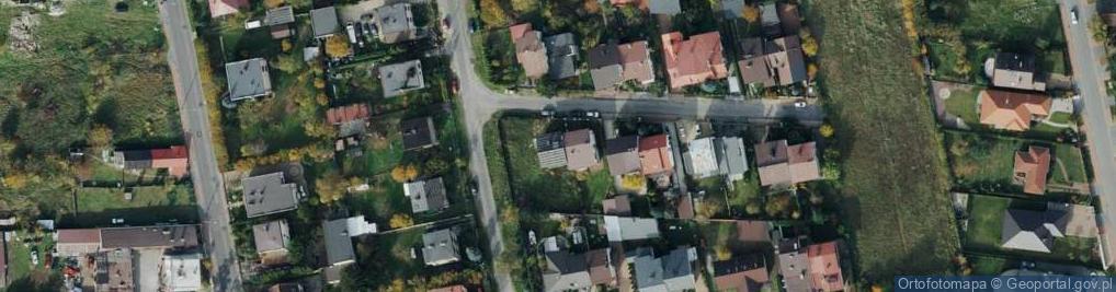 Zdjęcie satelitarne Dusznicka ul.
