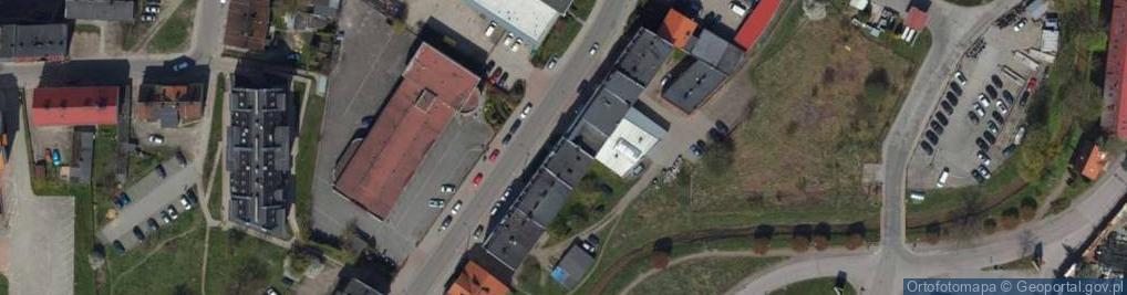 Zdjęcie satelitarne Fabryczna ul.