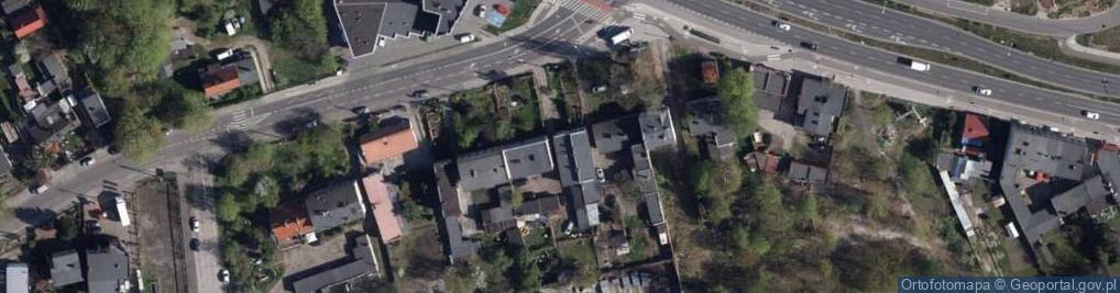Zdjęcie satelitarne Flisacka 7